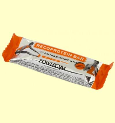 Recoprotein Bar Chocolate - Powergym - 35 gramos