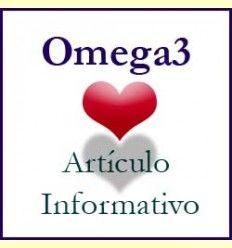 Información sobre los beneficios de una dieta rica en Omega3 - Artículo Informativo