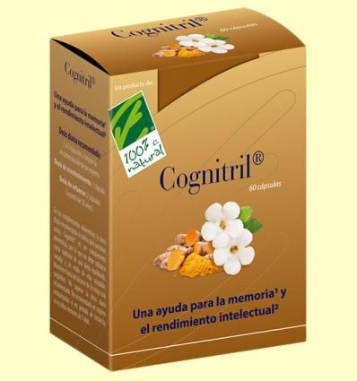 Cognitril - Nutrición para el cerebro - 100% Natural - 60 cápsulas