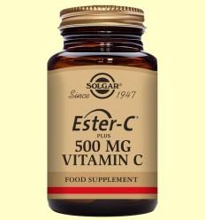 Ester C Plus 500 mg - Vitamina C - Solgar - 50 cápsulas vegetales