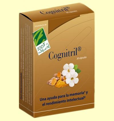 Cognitril - Nutrición para el cerebro - 100% Natural - 30 cápsulas