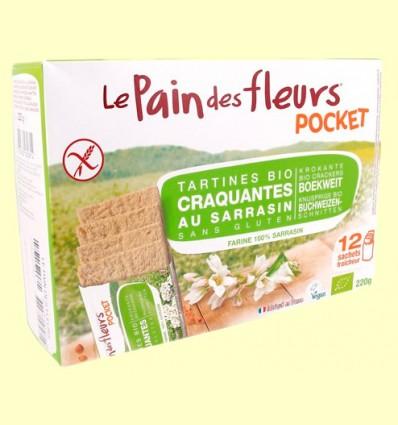 Pan de Flores Crujiente Pocket Bio - Le Pain des fleurs - 220 gramos