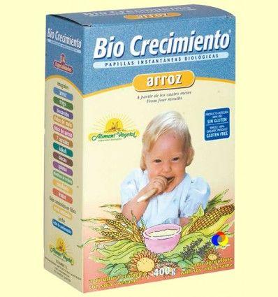 Papilla de Arroz Bio - Bio Crecimiento - 400 gramos