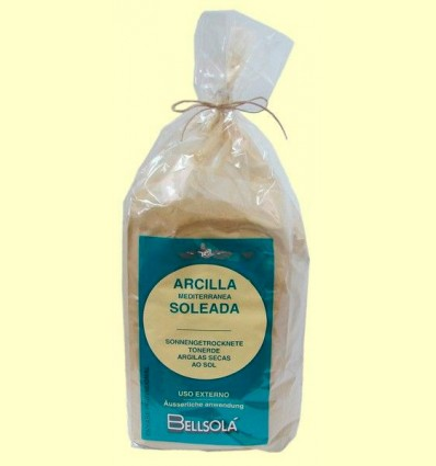 Arcilla Mediterránea Soleada - Bellsolá - 1000 gramos