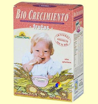 Papilla de Frutas Bio - biocrecimiento - 400 gramos *