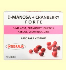D Manosa Cranberry Forte - Integralia - 20 sobres