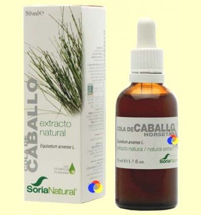 Cola de Caballo - Extracto de Glicerina Vegetal - Soria Natural - 50 ml