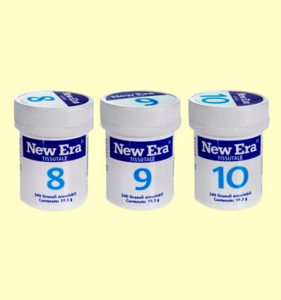 Trio Metabolismo - Sales 8 9 y 10 - New Era - 720 comprimidos