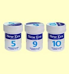 Trio Detox - Sales 5 9 y 10 - New Era - 720 comprimidos
