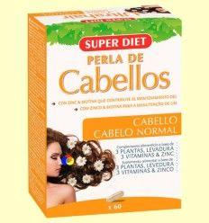 UltraHair Perla de Cabellos - Super Diet - 60 cápsulas