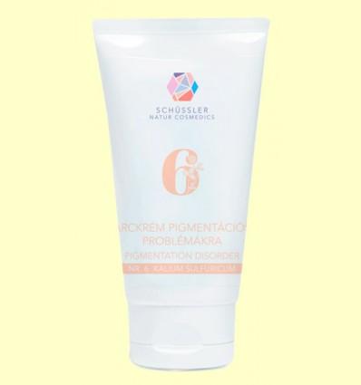 Crema Pigmentación Nº6 Kalium Sulfuricum - Schüssler - 75 ml