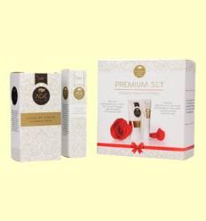 Crema de Noche y Contorno de Ojos - Age Protection Premium Set - Schüssler - 50 ml + 15 ml