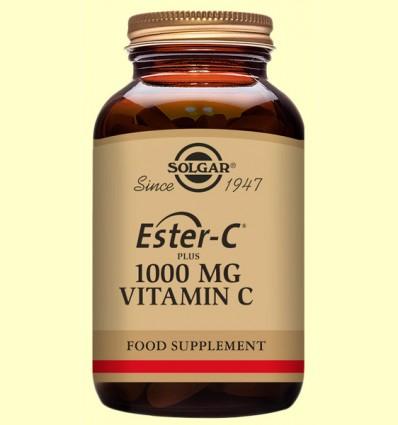Ester C Plus 1000 mg - Vitamina C - Solgar - 180 comprimidos