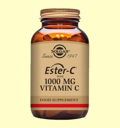 Ester C Plus 1000 mg - Vitamina C - Solgar - 90 comprimidos *