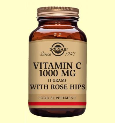 Rose Hips C 1000 mg - Vitamina C - Solgar - 100 comp.