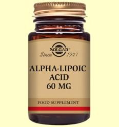 Acido Alfa Lipoico 60 mg - Solgar - 30 capsulas vegetales