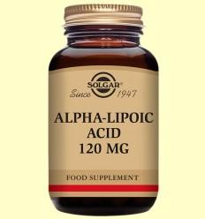 Acido Alfa Lipoico 120 mg - Solgar - 60 cápsulas vegetales *