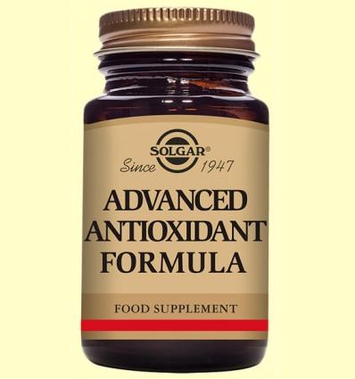 Formula Antioxidante Avanzada - Solgar - 30 cápsulas vegetales