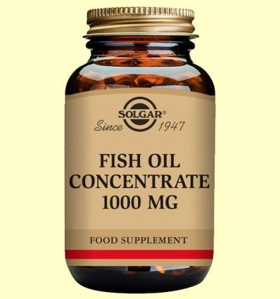Aceite de Pescado concentrado 1000 mg - Solgar - 60 cápsulas vegetales