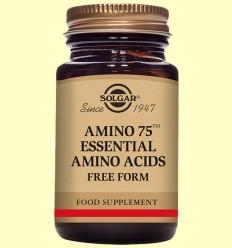 Amino 75 - Aminoácidos - Solgar - 90 cápsulas