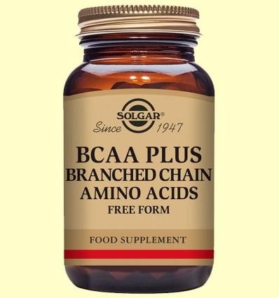 BCAA Plus - Aminoácidos - Solgar - 50 cápsulas vegetales