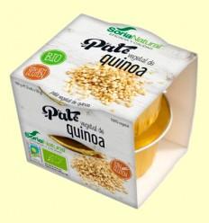 Paté Vegetal de Quinoa Bio - Soria Natural - 100 gramos