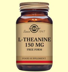 L-Teanina 150 mg - Aminoácidos - Solgar - 60 cápsulas