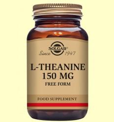 L-Teanina 150 mg - Aminoácidos - Solgar - 30 cápsulas