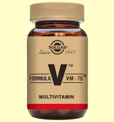 Fórmula VM 75 (Uno al día) - Solgar - 60 comprimidos