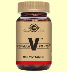 Fórmula VM 75 (Uno al día) - Solgar - 90 comprimidos