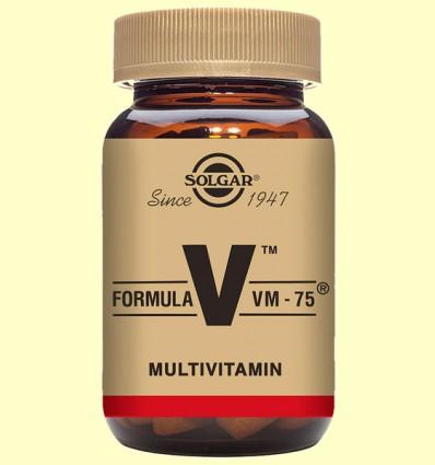 Fórmula VM 75 (Uno al día) - Solgar - 90 comprimidos *