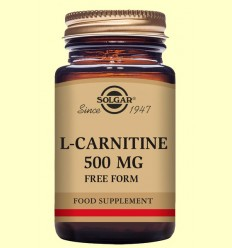 L-Carnitina 500 mg - Solgar - 60 comprimidos