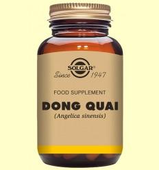 Dong Quai Máxima potencia - Solgar - 100 cápsulas