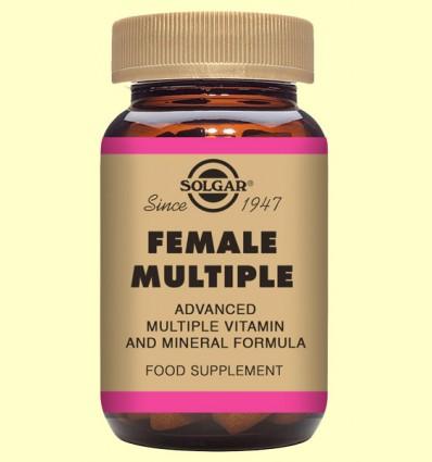 Female Múltiple - Complejo para la mujer - Solgar - 60 comprimidos
