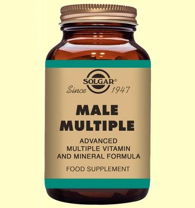 Male Múltiple - para el hombre - Solgar - 120 comprimidos