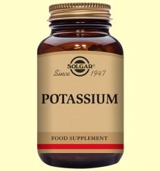 Potasio (como Gluconato) - Solgar - 100 comprimidos