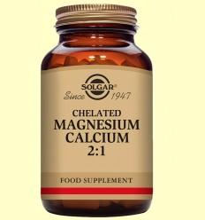 Magnesio Calcio Quelado 2:1 - Solgar - 90 comprimidos