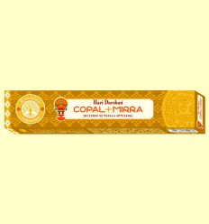 Incienso de Masala Artesanal Copal y Mirra - Haris Darshan - 15 sticks