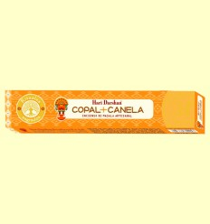Incienso de Masala Artesanal Copal y Canela - Haris Darshan - 15 sticks