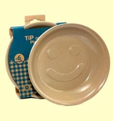 Plato Hondo Infantil Tip Ecofriendly - The Dida World - 1 unidad