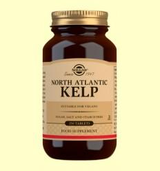 Kelp - Yodo de Fuente Natural - Solgar - 250 comprimidos