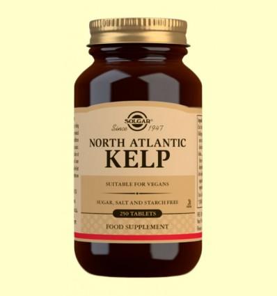 Kelp - Yodo de Fuente Natural - Solgar - 250 comprimidos *