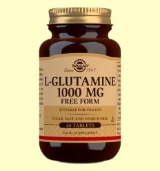 L-Glutamina 1000 mg - Solgar - 60 comprimidos