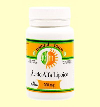 Ácido Alfa Lipoico - Nutri Force - 60 cápsulas