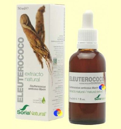 Eleuterococo - Extracto de Glicerina Vegetal - Soria Natural - 50 ml
