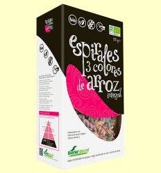 Espirales 3 Colores de Arroz Integral - Soria Natural - 250 gramos