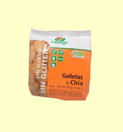 Galletas de Chía Ecológicas - Soria Natural - 200 gramos