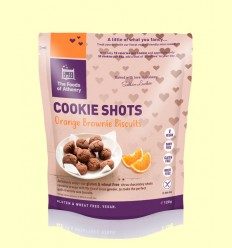 Mini Cookies Brownie de Naranja Sin Gluten - The Foods of Athenry - 120 gramos *