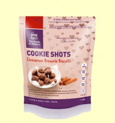 Mini Cookies Brownie de Canela Sin Gluten - The Foods of Athenry - 120 gramos