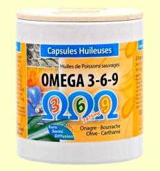 Omega 3 6 9 - Euro Santé Diffusion - 100 perlas